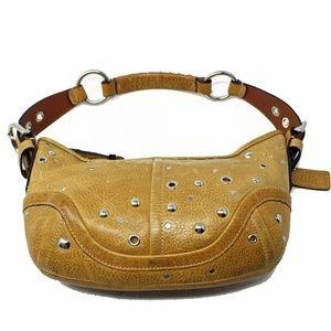 Coach Soho F10931 Hobo Golden Beige Leather
